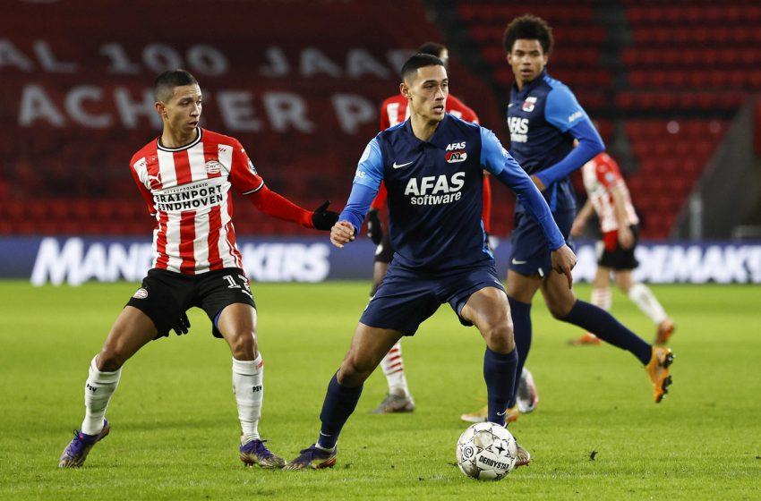 AZ Alkmaar renova contrato de Tijjani Reijnders