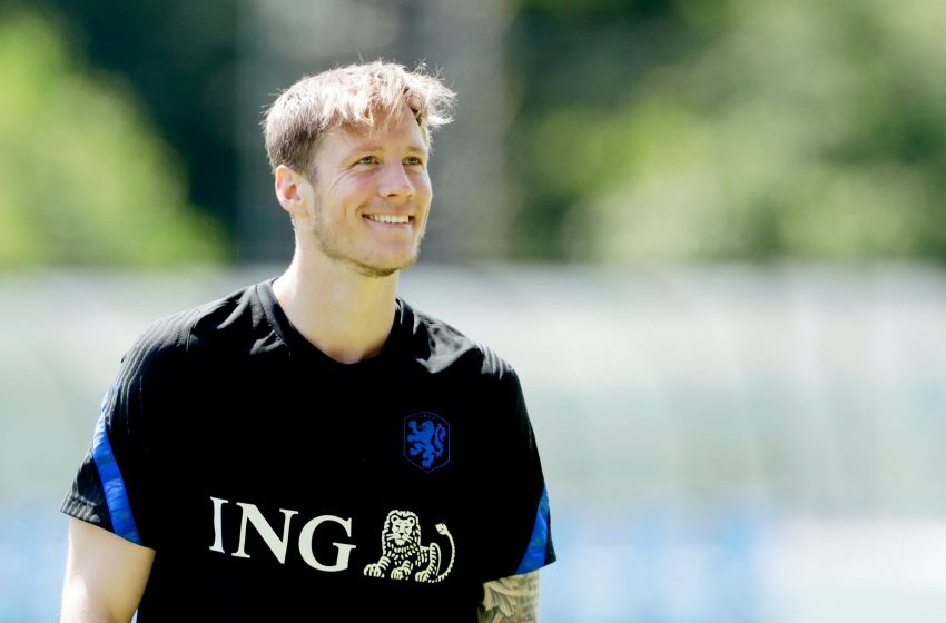 Wout Weghorst não gostou do seu rendimento no empate em 2 a 2 entre Holanda e Escócia