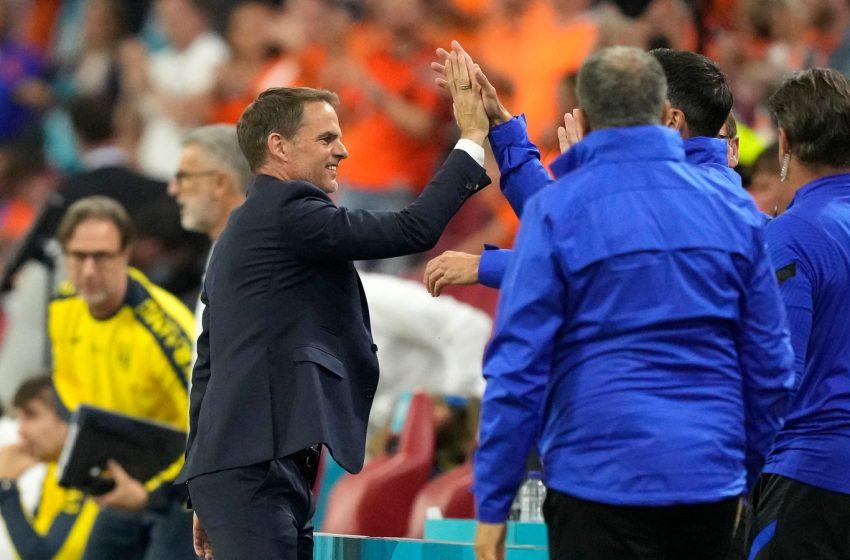 Frank de Boer ficou satisfeito com desempenho da seleção na vitória sobre a Ucrânia