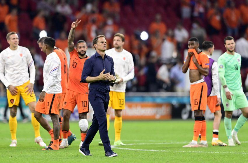 Frank de Boer afirma que poderá descansar alguns jogadores contra a Macedônia