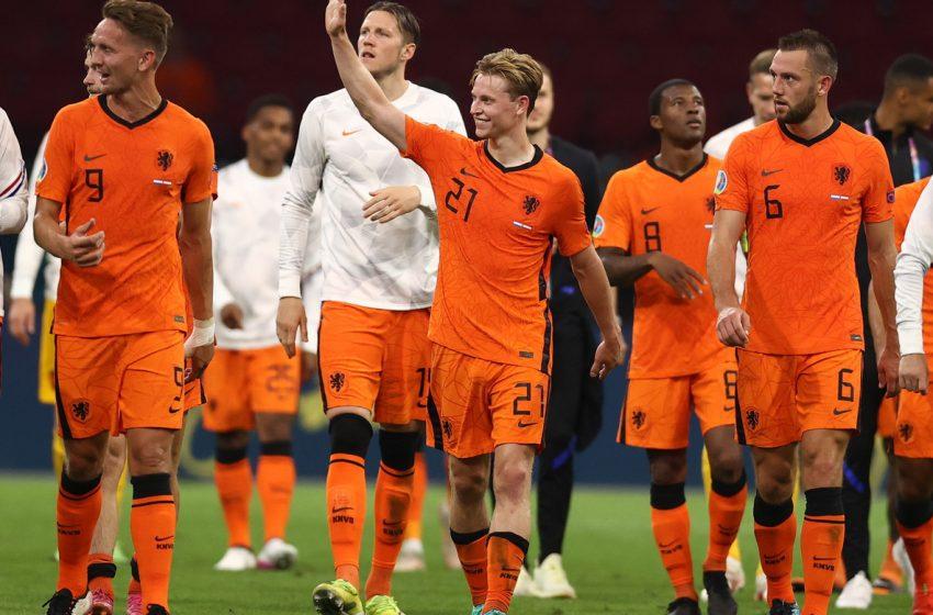 Frenkie de Jong espera com grande expectativa as oitavas de finais da Eurocopa