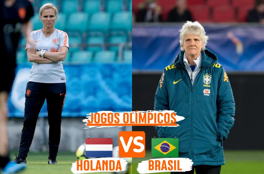 Holanda e Brasil duelam pela liderança do grupo nos Jogos Olímpicos