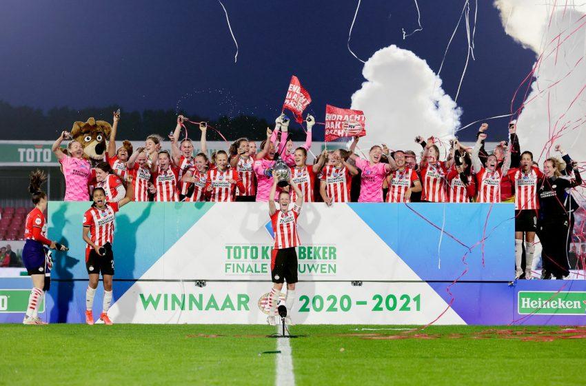 PSV jogará contra Lokomotiv Moscou na Liga dos Campeões Feminina