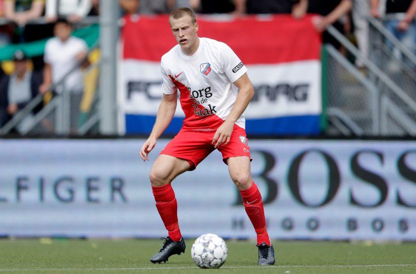 FC Utrecht empresta Emil Bergström ao Willem II