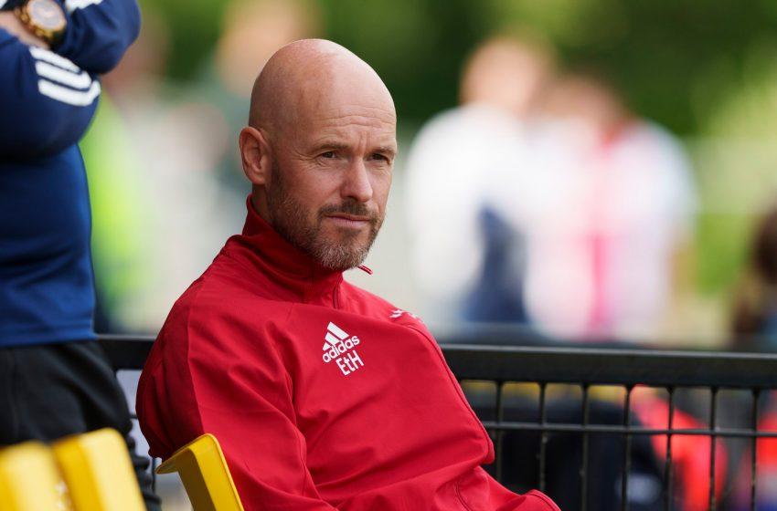 Erik ten Hag segue focado no Ajax e não quer assumir a Holanda nesse momento
