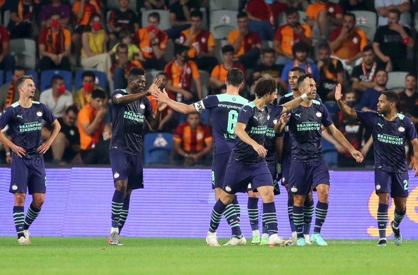 PSV avança na Liga dos Campeões com mais uma vitória diante do Galatasaray