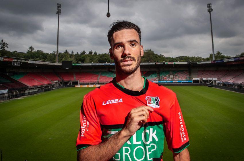 Iván Márquez é mais um reforço do NEC Nijmegen