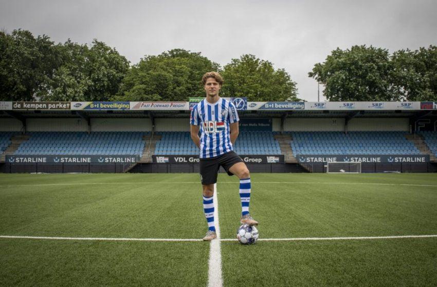 Jasper Dahlhaus retorna ao FC Eindhoven em definitivo