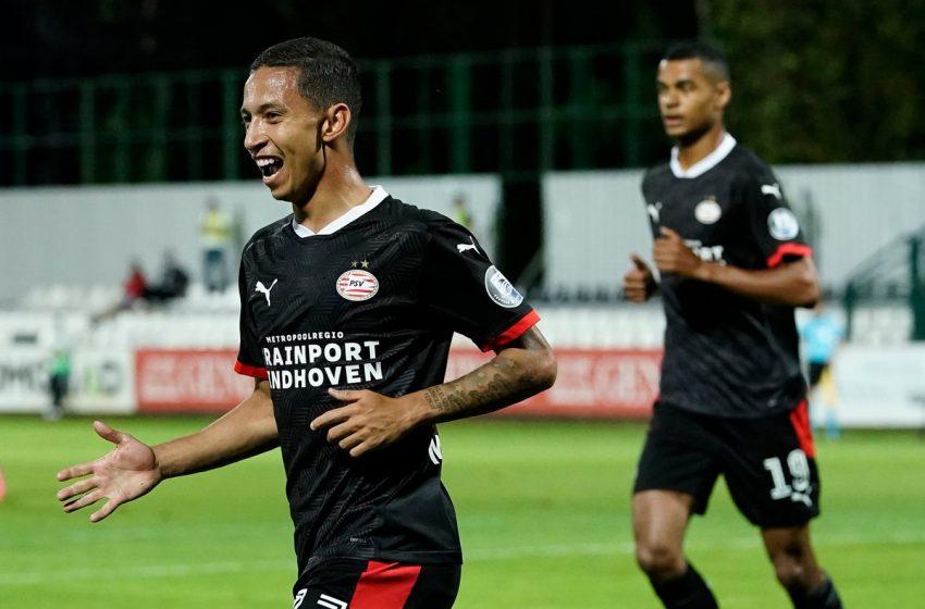 PSV renova contrato de atacante brasileiro, Mauro Júnior