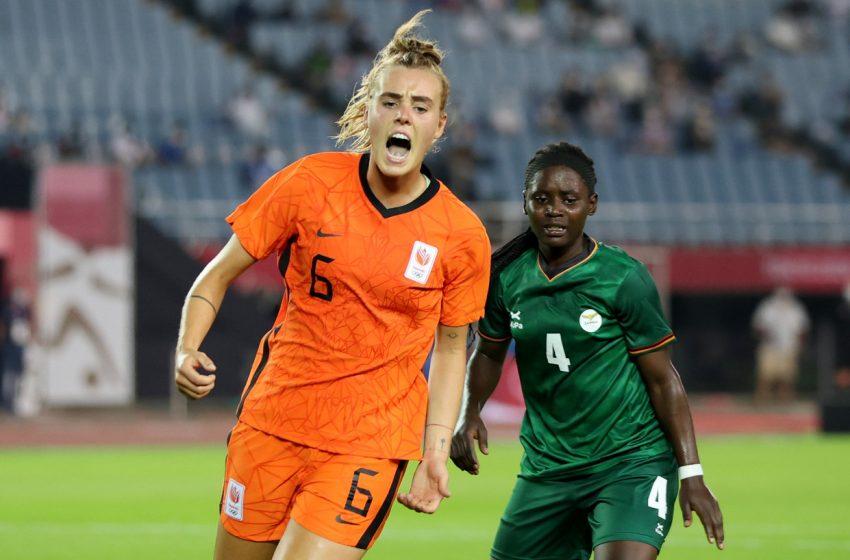 Vivianne Miedema brilha e Holanda vence na estreia dos Jogos Olímpicos de Tóquio