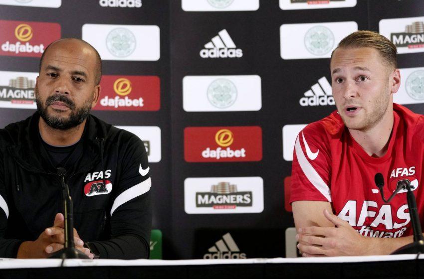Pascal Jansen ainda tem dúvidas sobre utilização de Teun Koopmeiners diante do Celtic