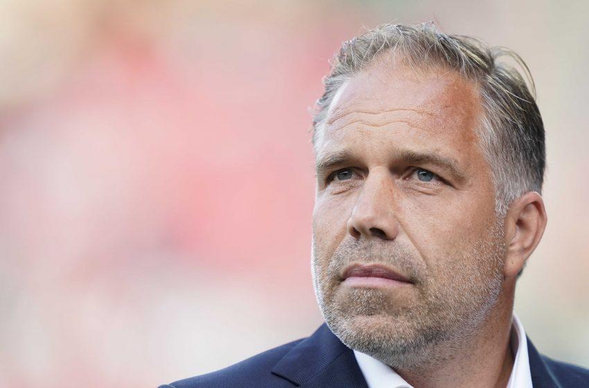 Art Langeler lamenta derrota para o NEC Nijmegen