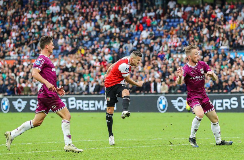 Bryan Linssen marca duas vezes e garante vitória do Feyenoord