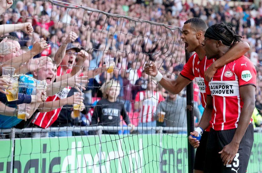 PSV bate FC Midtjylland por 3 a 0 e constrói boa vantagem para o segundo jogo
