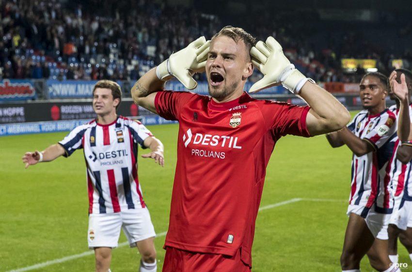 Görkem Sağlam marca o gol da vitória do Willem II diante do PEC Zwolle