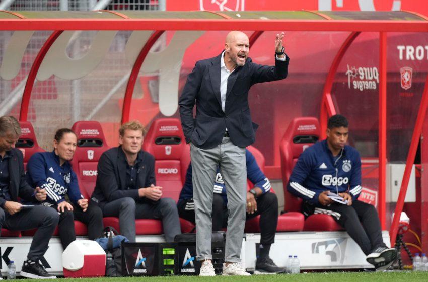 Erik ten Hag e Daley Blind avaliam empate com o FC Twente