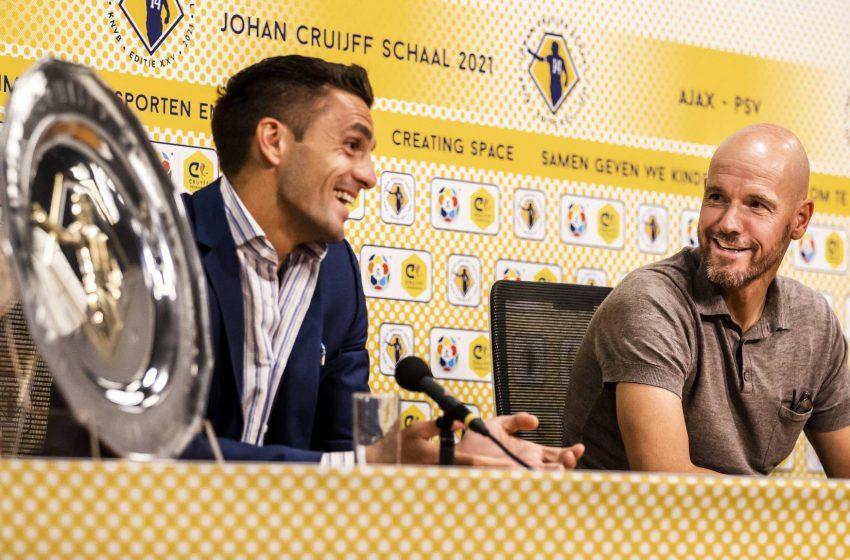 Erik ten Hag com diversos problemas para escalar Ajax contra o PSV