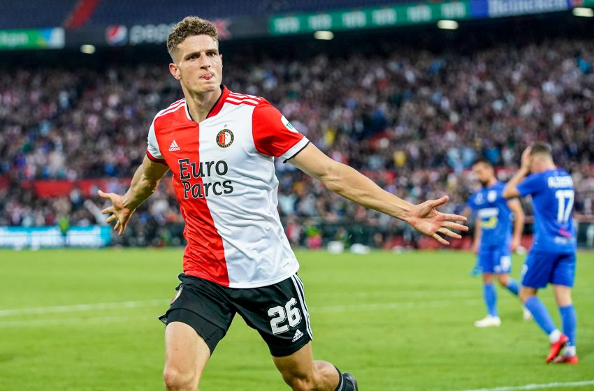 Guus Til brilha e garante classificação do Feyenoord diante do FC Drita