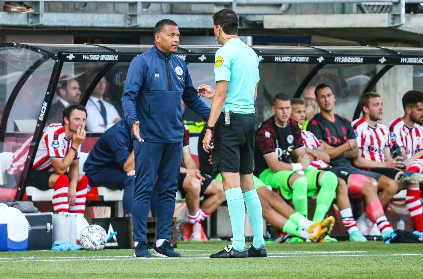 Sparta Rotterdam respira aliviado por Henk Fraser continuar como treinador do clube