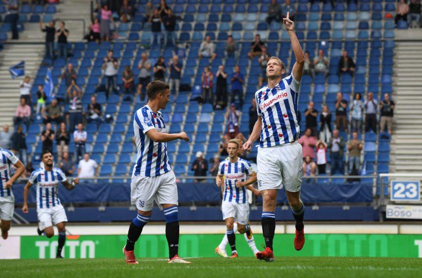 Henk Veerman marca duas vezes e SC Heerenveen vence RKC Waalwijk por 3 a 2