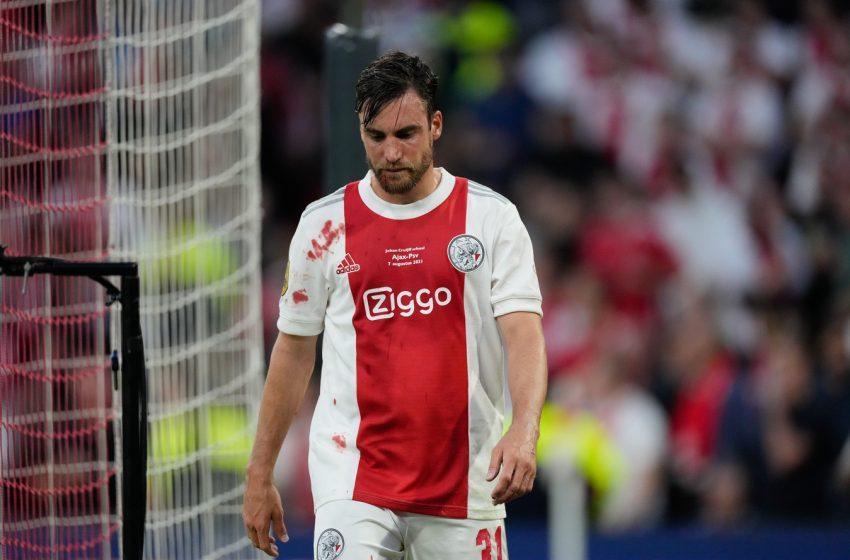 Nicolás Tagliafico suspenso por dois jogos