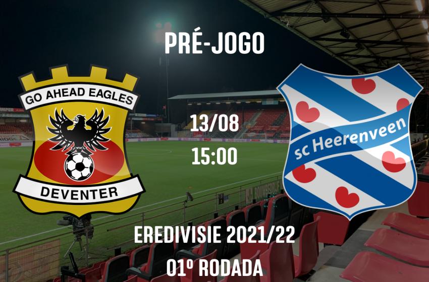 Após quatro anos longe da Eredivisie, Go Ahead Eagles fará o jogo de abertura da Eredivisie 2021/22