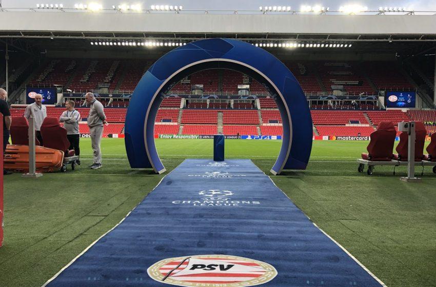 PSV e Benfica duelarão por uma vaga na fase de grupos da UEFA Champions League 2021/22