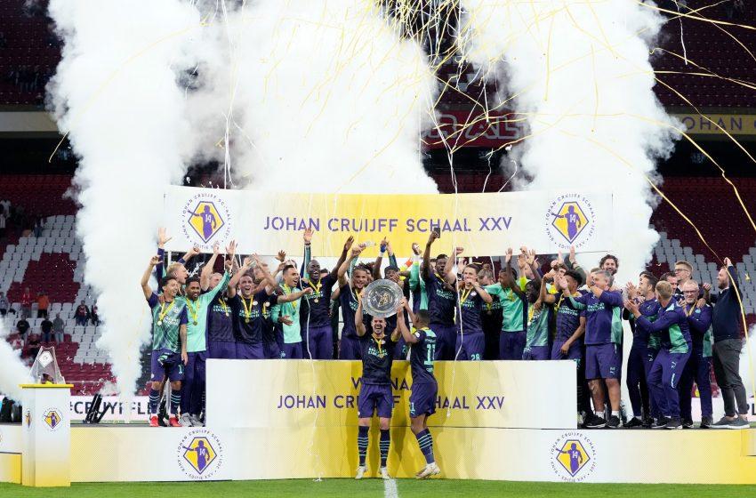 PSV conquista SuperCopa da Holanda ao atropelar Ajax em Amsterdã