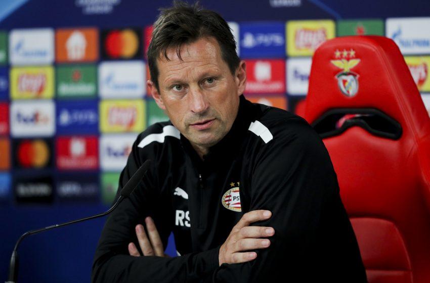 Roger Schmidt e Marco van Ginkel mostram confiança antes do jogo contra o Benfica
