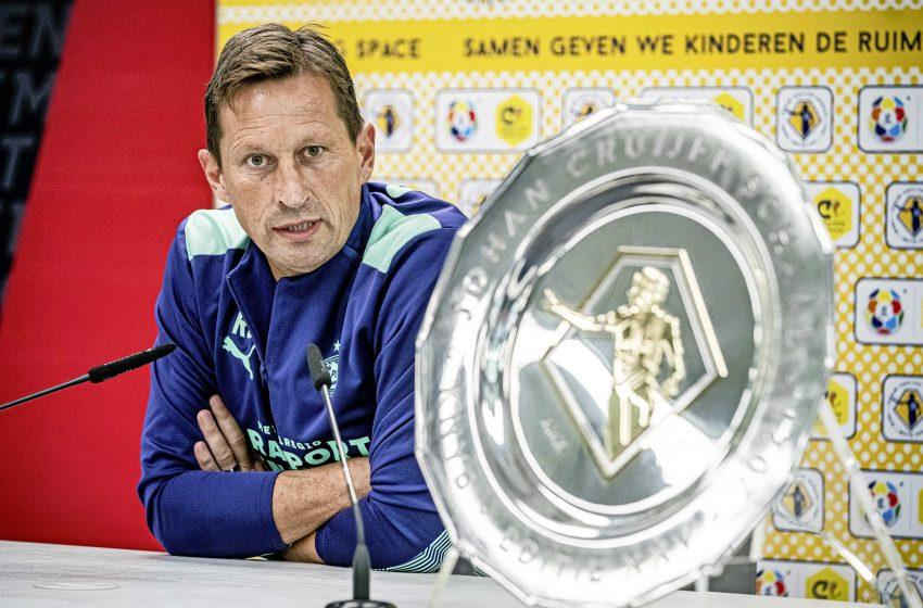 Roger Schmidt e Marco van Ginkel querem tirar a SuperCopa da Holanda do Ajax, mas Liga dos Campões continua sendo mais importante