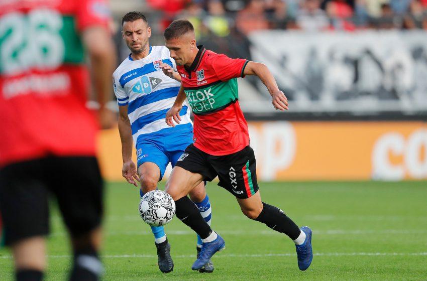 O capitão do PEC Zwolle se mostra desapontado com resultado e desempenho da sua equipe