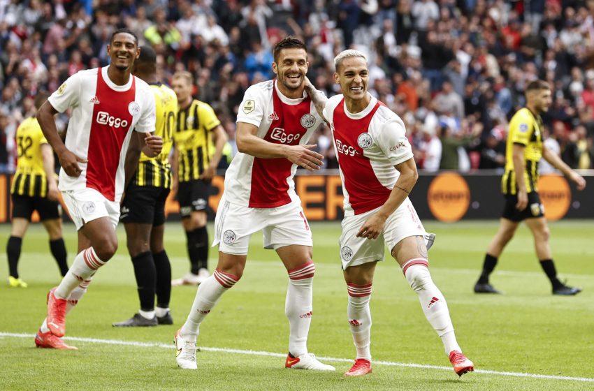 Antony Santos marca na vitória do Ajax sobre o Vitesse por 5 a 0