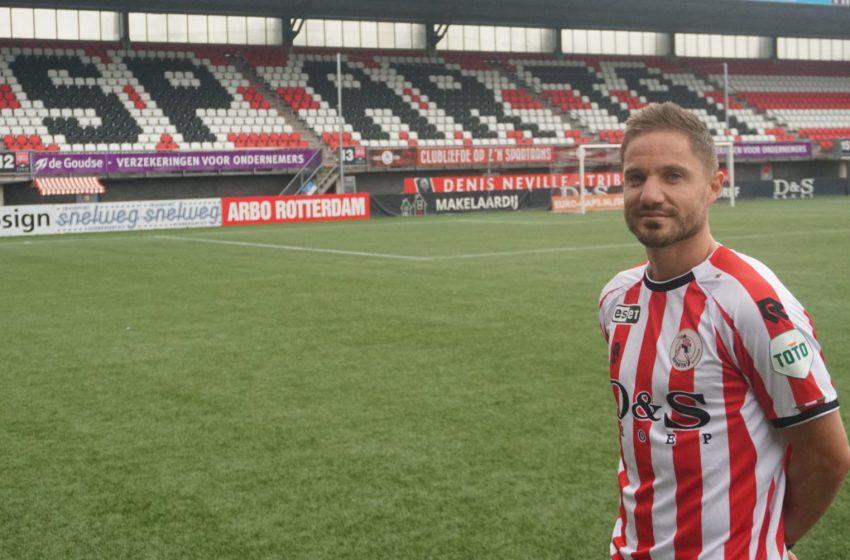Aaron Meijers assina em definitivo com o Sparta Rotterdam