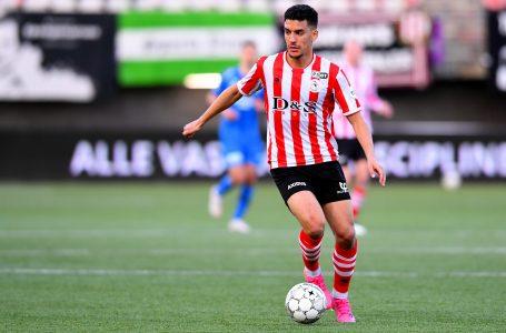 ROTTERDAM, 07-05-2021, Het Kasteel, football, Dutch Eredivisie, season 2020 / 2021, Sparta Rotterdam player Abdou Harroui during the match Sparta – Vitesse 3-0
