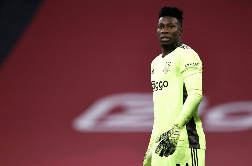 André Onana ainda quer renovar com o Ajax