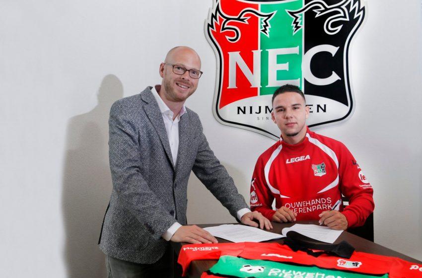 Calvin Verdonk retorna ao NEC Nijmegen por empréstimo