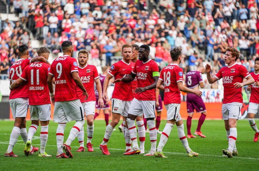 AZ Alkmaar atropela Go Ahead Eagles no AFAS Stadion