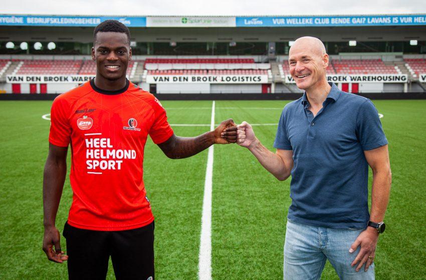 Jossue Dolet é mais um reforço do Helmond Sport