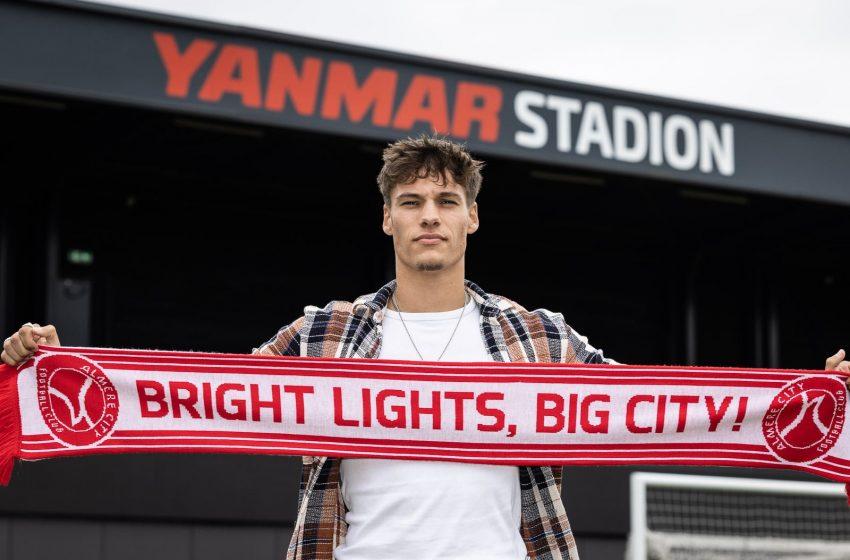 FC Twente empresta Thijs van Leeuwen ao Almere City FC
