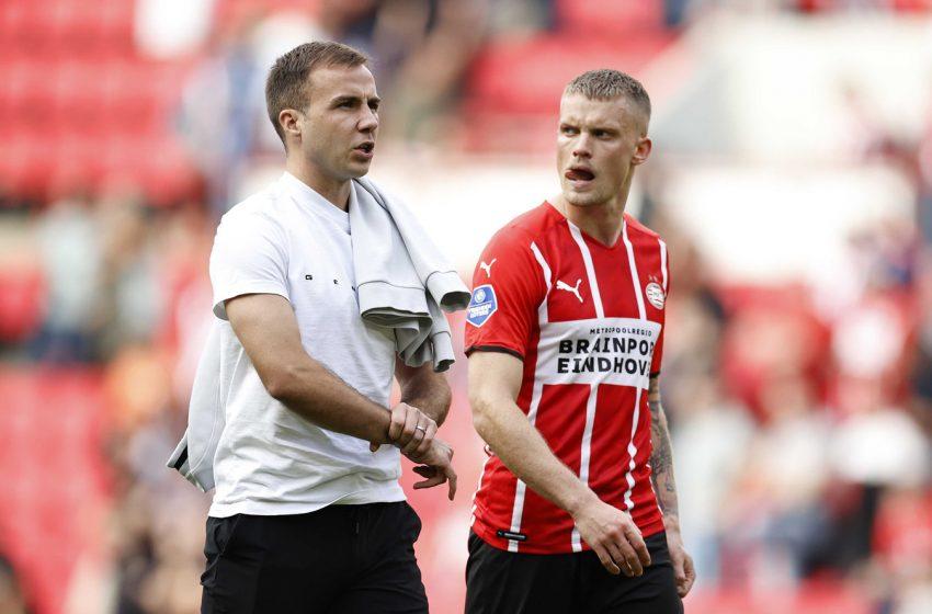 Mario Götze e Ibrahim Sangaré podem jogar contra o Willem II