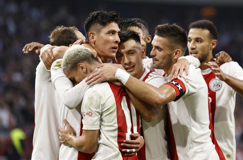 Antony Santos marca em nova vitória do Ajax na Eredivisie