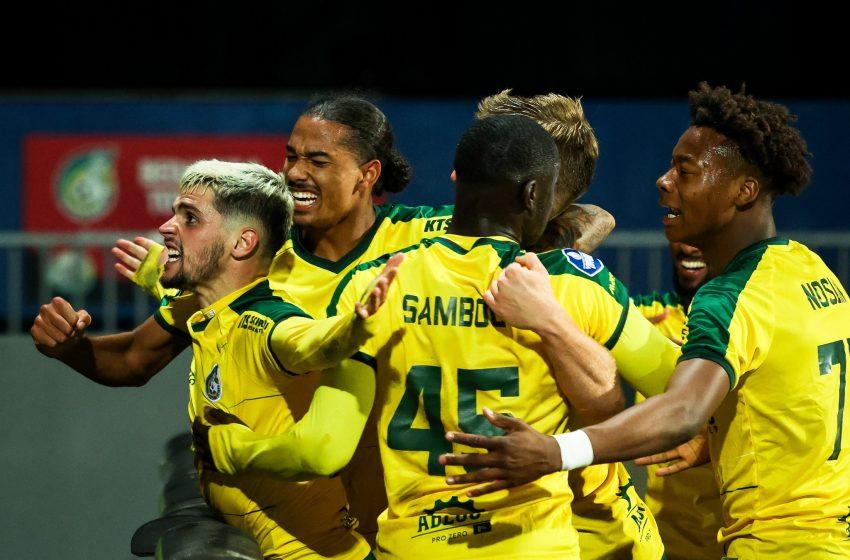 Fortuna Sittard bate SC Cambuur por 1 a 0 em casa