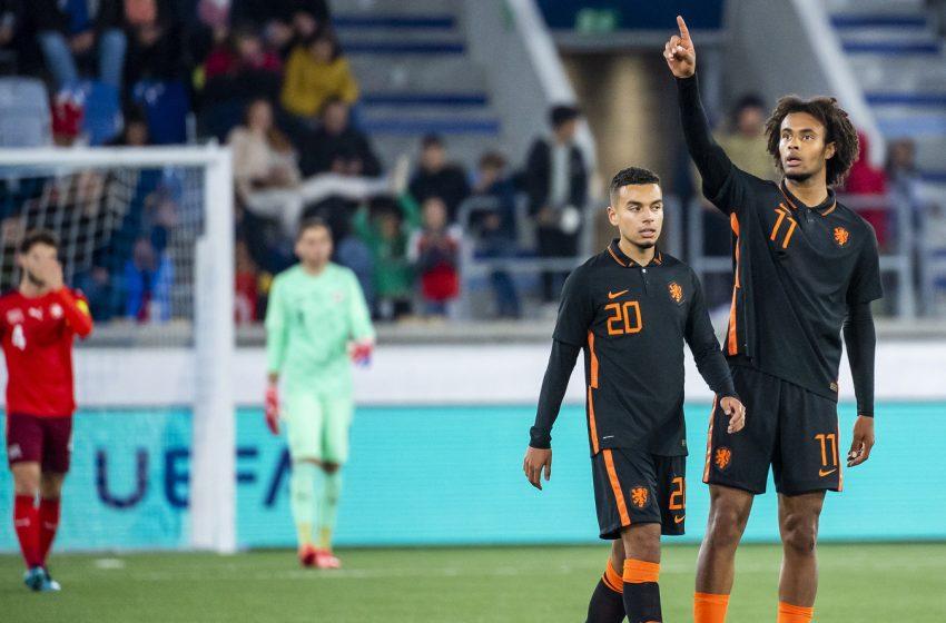 Holanda Sub21 empata com Suíça e segue sem vencer suíços