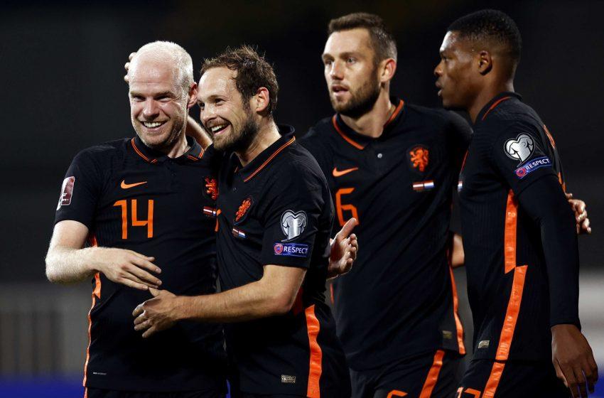 Holanda mantém tabu e bate a Letônia por 1 a 0